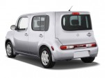 2010 Nissan Cube 5dr Wagon I4 CVT 1.8 S Angular Rear Exterior View
