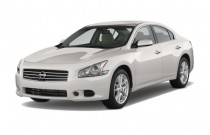 2010 Nissan Maxima 4-door Sedan V6 CVT 3.5 S Angular Front Exterior View