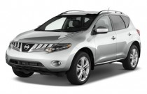 2010 Nissan Murano AWD 4-door LE Angular Front Exterior View
