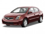 2010 Nissan Sentra 4-door Sedan I4 CVT 2.0 S Angular Front Exterior View