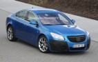 Spy shots: Barely disguised Opel Insignia OPC