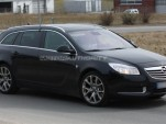2010 Opel Insignia Sports Tourer OPC spy shots