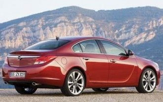 Buick Uses Opel Insignia To Resurrect Regal for 2010