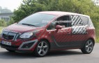 Spy shots: 2010 Opel Meriva MPV