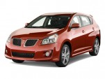 2010 Pontiac Vibe 4-door HB GT FWD Angular Front Exterior View
