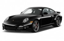 2010 Porsche 911 2-door Coupe Turbo Angular Front Exterior View