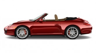 2010 Porsche 911 Carrera 2-door Cabriolet 4S Side Exterior View