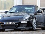 2010 Porsche 911 GT3 RS facelift spy shots