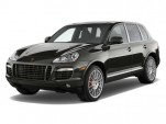 2010 Porsche Cayenne AWD 4-door Turbo S Angular Front Exterior View