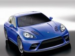 2010 Porsche Panamera by 9ff Renderings