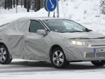 2010 Renault Megane Sedan spy shots