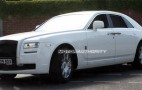 Spy shots: 2010 Rolls-Royce Ghost in white