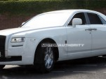 2010 Rolls Royce Ghost spy shots