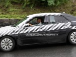 2010 Saab 9-5 prototype spy shots