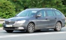 2010 Skoda Superb Kombi spy shot