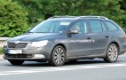 Spy shots: Skoda Superb Estate wagon