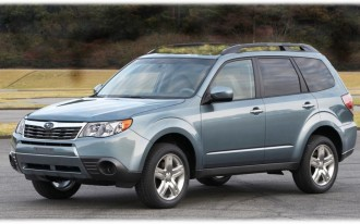 2010 Subaru Forester Gets Revolutionary 'Green Roof' Option