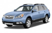 2010 Subaru Outback 4-door Wagon H4 Auto 2.5i Ltd Angular Front Exterior View