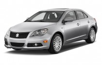 2010 Suzuki Kizashi 4-door Sedan Man FWD SLS Angular Front Exterior View