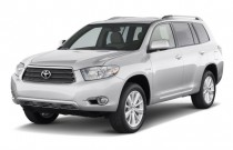 2010 Toyota Highlander Hybrid 4WD 4-door Limited (Natl) Angular Front Exterior View