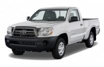 2010 Toyota Tacoma 4WD Reg I4 MT (Natl) Angular Front Exterior View