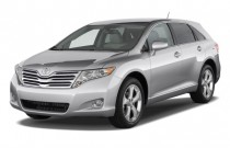 2010 Toyota Venza 4-door Wagon V6 AWD (Natl) Angular Front Exterior View
