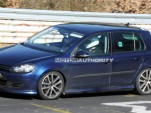 2010 Volkswagen Golf R20 spy shots