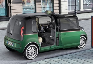 Volkswagen Shows Concept For All-Electric Milano Taxi