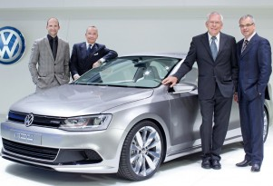 2010 Volkswagen New Compact Coupe Concept (2011 Volkswagen Jetta Coupe)