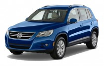 2010 Volkswagen Tiguan FWD 4-door SE *Ltd Avail* Angular Front Exterior View