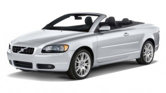 2010 Volvo C70 2-door Convertible Auto Angular Front Exterior View