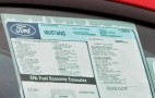 2010 Mustang Window Sticker Reveals Engine Size &amp; Options