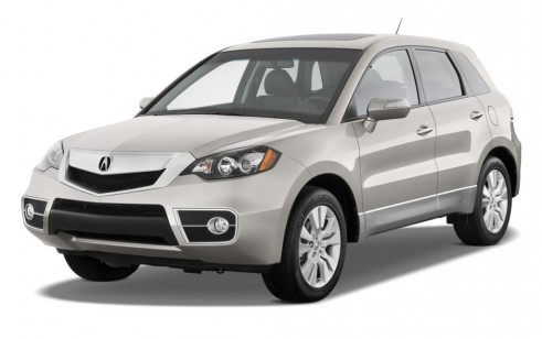 2011 Acura RDX AWD 4-door Tech Pkg Angular Front Exterior View
