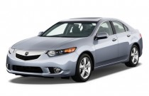 2011 Acura TSX 4-door Sedan I4 Auto Angular Front Exterior View