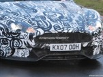 2011 Aston Martin DBS facelift spy shots