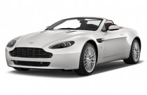 2011 Aston Martin V8 Vantage 2-door Convertible Sportshift Angular Front Exterior View