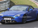 2011 Aston Martin Vantage Roadster facelift spy shots