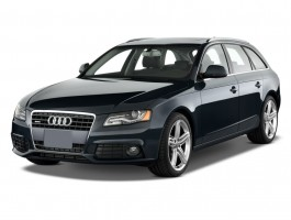 2011 Audi A4 4-door Wagon Auto 2.0T Avant quattro Premium  Plus Angular Front Exterior View