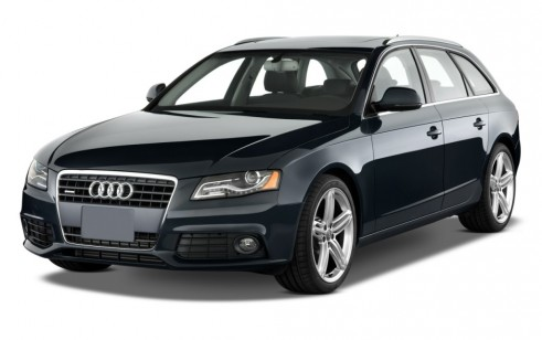 2011 Audi A4 4-door Wagon Auto 2.0T Avant quattro Premium  Plus Angular Front Exterior View