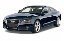 2011 Audi A5 2-door Coupe Auto quattro Premium Plus Angular Front Exterior View