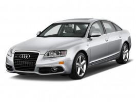 2011 Audi A6 4-door Sedan 3.2L FrontTrak Premium Plus Angular Front Exterior View