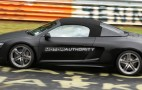 Spy shots: V10-powered Audi R8 Spyder takes to the 'Ring