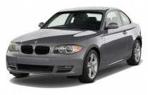 2011 BMW 1-Series 2-door Coupe 128i Angular Front Exterior View
