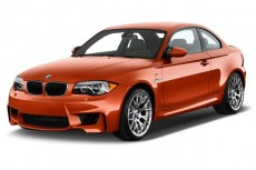 2011 BMW 1 Series M 2-door Coupe Angular Front Exterior View