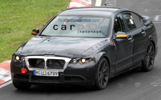 2011 BMW 5-Series Spied!