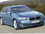 2011 BMW 5-Series Touring rendering