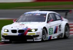 2011 BMW M3 GT Intercontinental Le Mans Cup race car