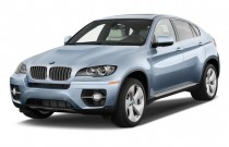 2011 BMW X6 AWD 4-door ActiveHybrid Angular Front Exterior View