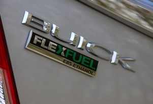 2011 Buick Regal flex-fuel badge