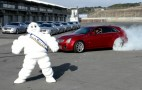 2011 Cadillac CTS-V Wagon Video: Burnout, Donuts, And The Michelin Man